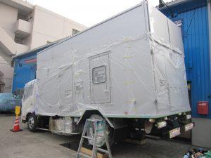 福島原発向け電源車 ジーバート防錆