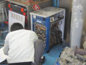 溶接機 修理