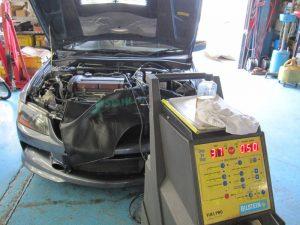 CT9A ランエボ カーボンクリーン エンジン洗浄