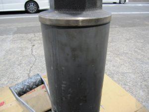 ギトギト油汚れも重曹ブラストでこの通り