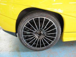 フィアットクーペ 20Vターボ タイヤ交換