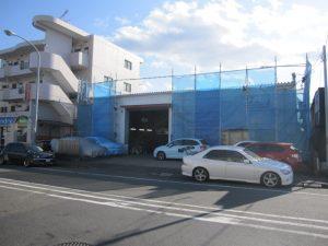 ガレージHRS 外壁塗装