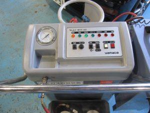 エアコンガス回収&洗浄マシン