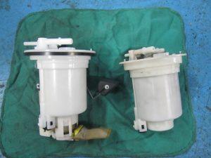 CT9A ランエボ  燃料フィルター交換