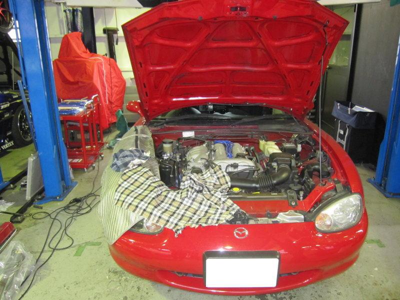 NB8C ロードスター カーボンクリーン エンジン洗浄