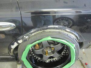 G50 オーバーフェンダー加工