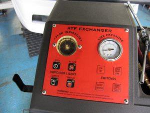 エボ7GT-A ATF交換中