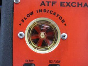 ATF交換後のインジケーター