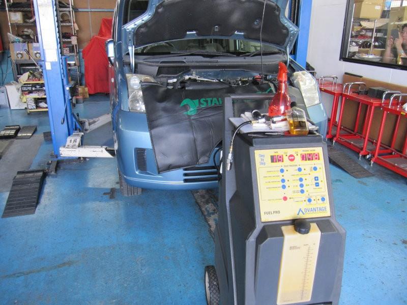 ビルシュタイン カーボンクリーン エンジン洗浄