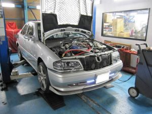 W202 メルセデス ベンツ カーボンクリーン エンジン洗浄