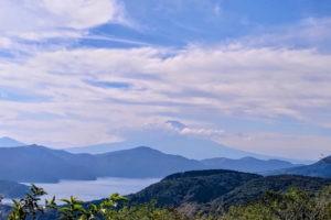 芦ノ湖を望む 絶景